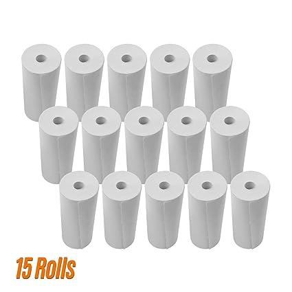 Impresora de rollos de papel térmico de 80 * 30 mm Rollos de ...