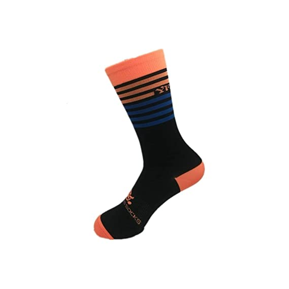 Beydodo 1 Par Calcetines Hombre Calcetines Bicicleta Calcetines Baloncesto Calcetines Running Calcetines Deportivos Hombre Calcetines Naranja: Amazon.es: ...