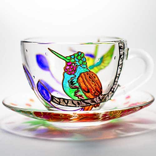Amazon.com: Personalized Tea Cup and Saucer Set