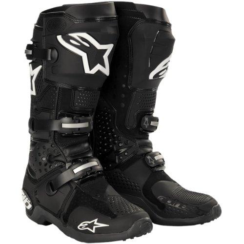 Alpinestars - Bottes cross - TECH 10 - Couleur : Noir - Pointure : 8
