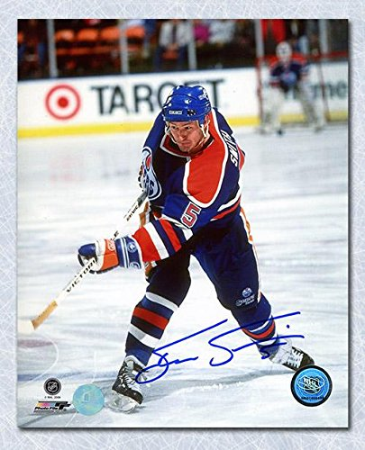 Image Unavailable. Image not available for. Color  STEVE SMITH Edmonton  Oilers SIGNED ... 6b7a4af93