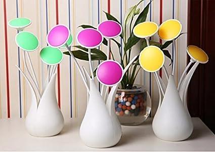 Usb Capteur Led Vase Lampe Cuzile Table Lumière De nOwk08XNP