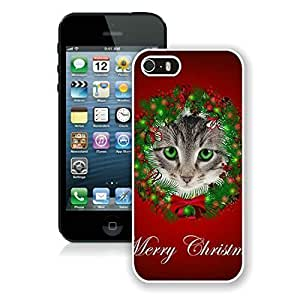 2014 Newest For LG G2 Phone Case Cover Protective Cover Case Christmas Cat For LG G2 Phone Case Cover PC Case 47 White