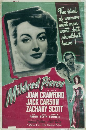 Mildred Pierce POSTER Movie (27 x 40 Inches - 69cm x 102cm) (1945) (Style F)