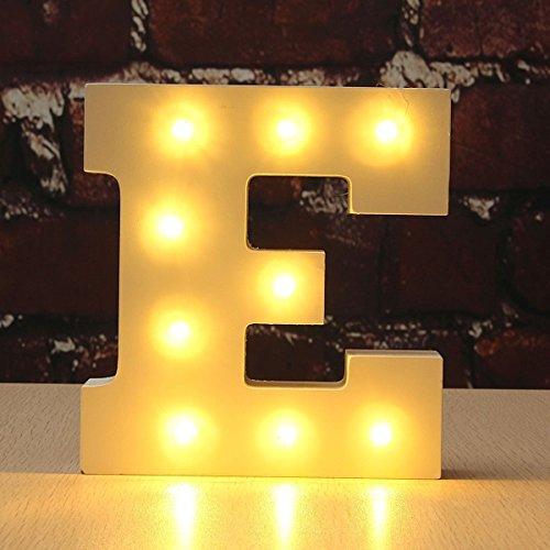 Decorative Alphabet WONFAST Wedding Operated