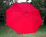 Cheap Apontus 39621 Replacement 8 Rib Umbrella Canopy, 9′, Red