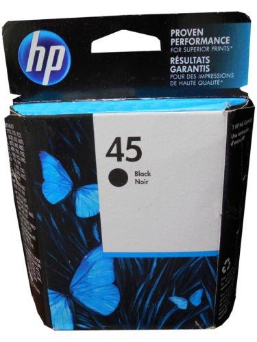110 Photo Pack (HP 45 Black Ink Cartridge (51645A))