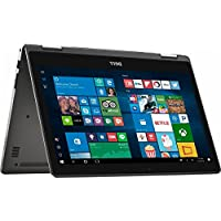 Premium Dell Inspiron 7000 13.3 2-in-1 Full HD IPS Touchscreen Convertible Laptop, 7th Intel Core i5-7200U, 8GB DDR4 RAM, 256GB SSD, Bluetooth, HDMI, 802.11AC, Backlit Keyboard, Windows Ink- Win 10