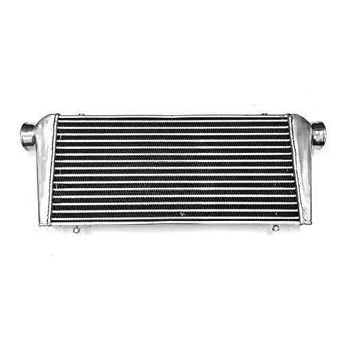 Turbo Intercooler (Universal Intercooler Mount Core Turbo Bar And Plate Design Aluminium High Flow 23.5