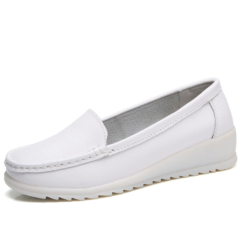 ZYEN レディース ZYEN-XZH6616 B07BFCWMBL ホワイト 7 B(M) US = Heel to Toe 9 1/2 inch (24cm)