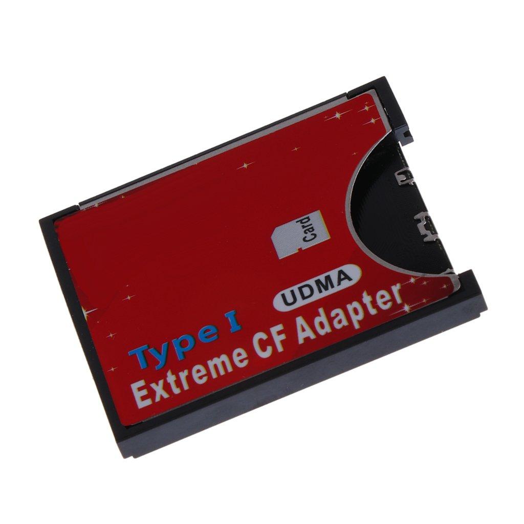 Dolity Adaptador de CF a SD SD SDHC Tarjetas de Memoria SDXC ...