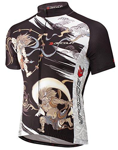 レトルト天使怪しいDECOJA サイクルジャージ 風神雷神(28561) サイクルウェア 自転車ウェア
