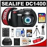 SeaLife DC1400 14MP HD Underwater Digital Camera with 32GB Card + Case + Battery + Tripod + Accessory Kit
