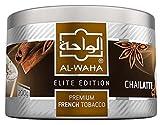 elite electronic cigarette - Al Waha Elite Edition Shisha Molasses Premium Flavors 200g for Hookah (CHAI Latte)