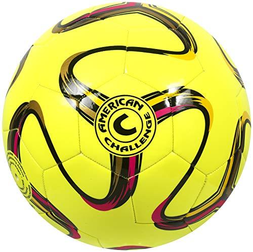 American Challenge Brasilia Soccer Ball (Lemon, 4)