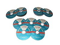 50 Pack 4-1/2-Inch by 0.045-Inch Metal and Stainless Highly Active Cutting Wheel, 7/8-Inch Arbor