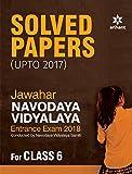 Jawahar Navodaya Vidyalaya Solved Papers 2018 for Class 6