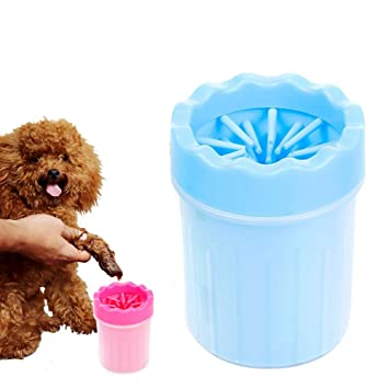 LI HUA CAT Limpiador de pies de Gel de sílice para Mascotas, fácil de Limpiar, Cepillo de Silicona para Perros, Gatos con Patas de Peluche: Amazon.es: ...