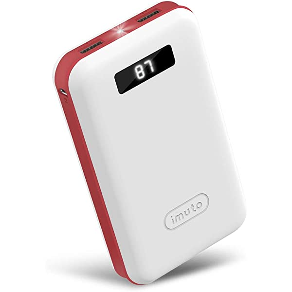 iMuto 20000mAh Portable Charger Compact Power Bank External