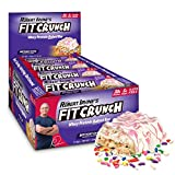 FITCRUNCH Protein Bars | Designed by Robert Irvine | World's Only 6-Layer Baked