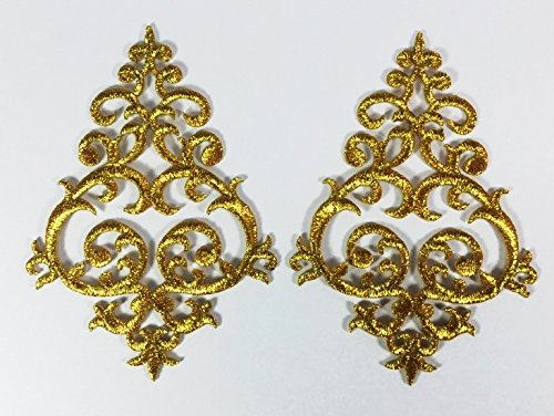1-pair-exquisite-flower-gold-lace-vintage-design-diy-applique-embroidered-sew-iron-on-patch-p272