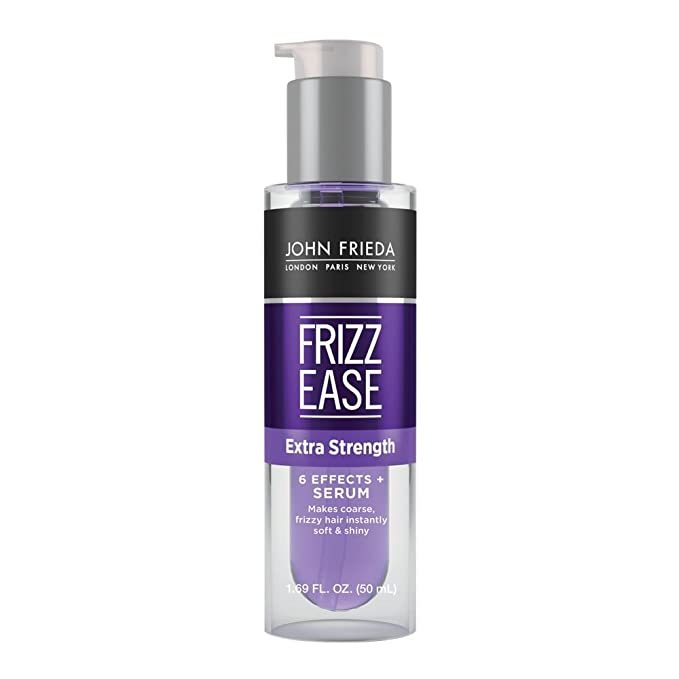The Best Hair Products For Each Hair Type | John Frieda Frizz Ease Extra Strength 6 Effects+ Serum | Hairstyle on Point
