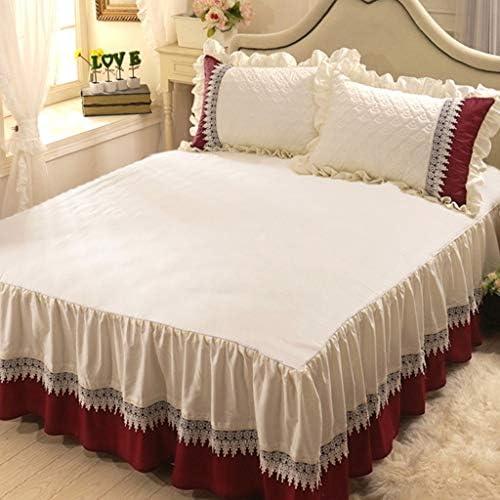Jupe de lit, Couvre-lit, Housse de Protection de lit, tridimensionnelle plissée à la Maison (Size : 1.8m*2.0m)