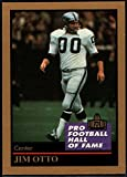 Football NFL 1991 ENOR Pro Football HOF #111 Jim Otto NM-MT Raiders