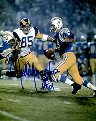 ce543d63a Signed Jack Youngblood Hof 8x10 Photo Los Angeles Rams - Certified Autograph