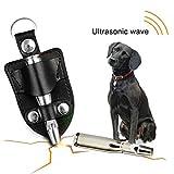 Dog Training Deterrent Whistle Barking Stop Patrol Ultrasonic Sound Repellent Bullet Shape Pet Pigeon Whistle With Holster