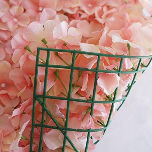 Efavormart-4-PCS-Blush-Silk-Hydrangea-Flower-Mat-Wall-Wedding-Event-Decor-for-DIY-Centerpieces-Arrangements-Party-Home-Decorations