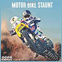 Motor Bike Staunt 2021 Calendar: Official Motorcycle Stunt Riding Wall Calendar 2021, 18 Months