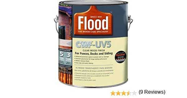 Amazoncom Flood Cwf Uv5 Wood Finish Oil Base Natural 1 Gal Home
