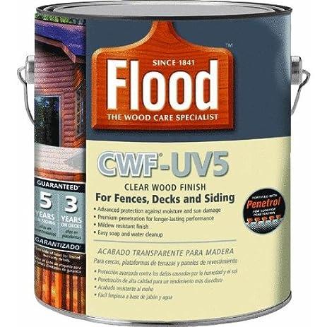 Flood Cwf-Uv5 Wood Finish Oil Base Natural 1 Gal - Household Wood ...