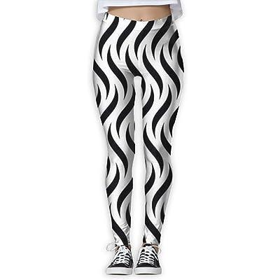 Houde Ankang Stripe Pattern Women's Yoga Trousers Sweatpants
