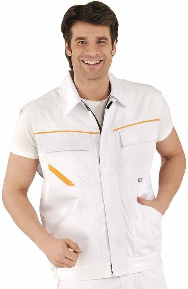 Arbeitsschutzausrüstung gelb weiß Planam 2367 Arbeitsweste ...