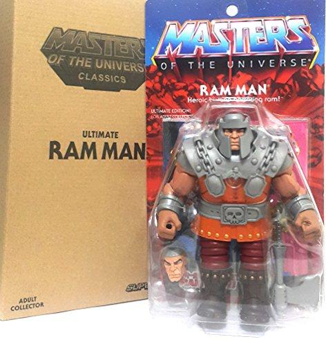 Masters of the Universe MOTUC Classics Super 7 Ultimates RAM MAN ()
