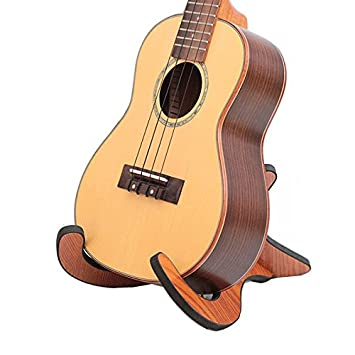 Hillhead Soporte plegable plegable de madera para el banjo de la ...