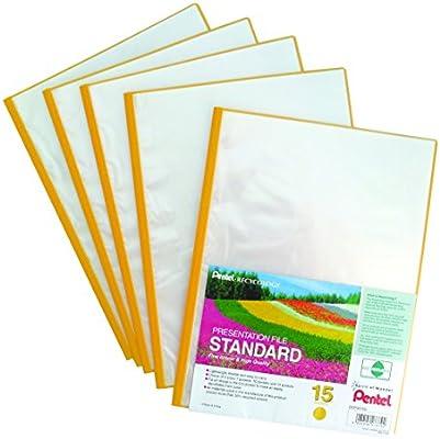 Pentel Recycology - Pack de carpetas de fundas transparentes ...