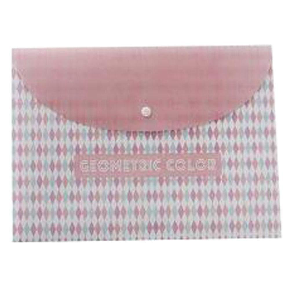 3pcs Cute File Bag Stationery Bag Pouch File Envelope for Office-School Supplies, Lingling - 3pcs Cute File Bag Stationery Bag Pouch File Envelope for Office-School Supplies, Lingling