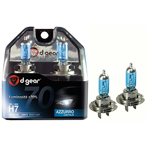 Lampadina alogena Xenon H7 - RX - Hyper Blue D-GEAR