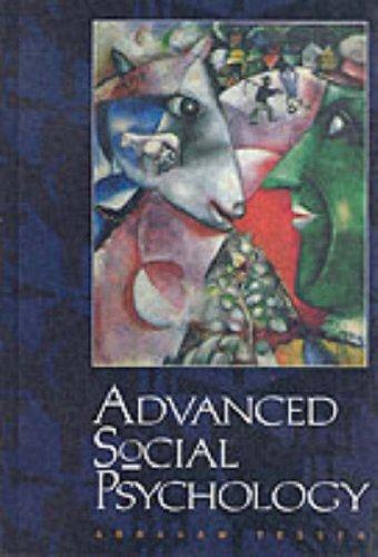 Advanced Social Psychology -