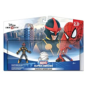 Disney Infinity: Marvel Super Heroes (2.0 Edition) Spider Man Play Set – Not Machine Specific