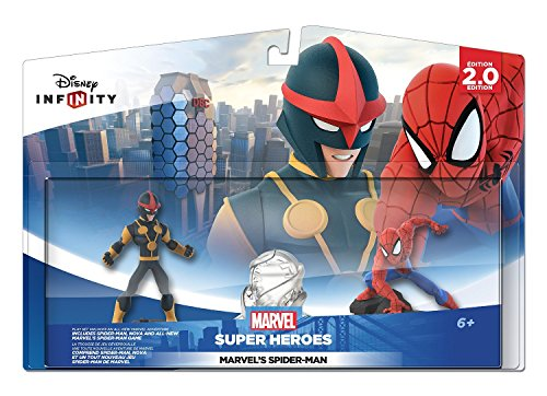 Disney Infinity: Marvel Super Heroes (2.0 Edition) Spider Man Play Set - Not Machine (Avenger 2 Characters)