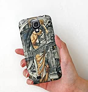 Samsung S4 phone Case, DIY ARTICLE Samsung Galaxy S4 Case, good fit slim Case Cover for Galaxy S4 IV i9500 with Stunning Book Carving Art Works back wangjiang maoyi