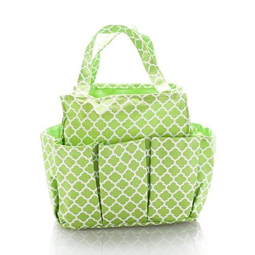 Bag Gardening (Small Garden Tote Bag, Utility Bags for Gardening, Car Totes, Organization, (Green))