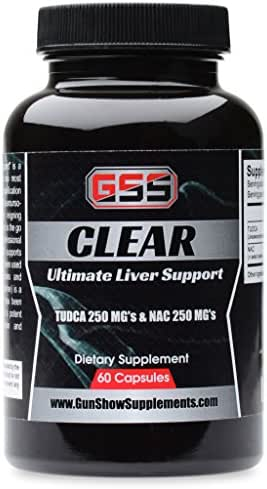 Clear Liver Support: Best Price! NO Filler! TUDCA & NAC N-Acetyl Cysteine(60 Capsules)