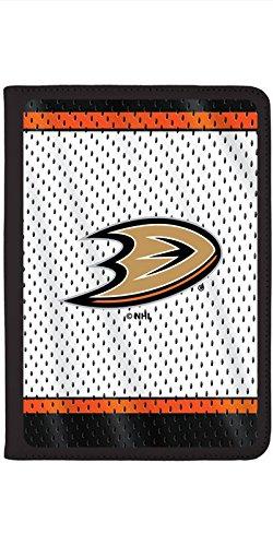 Anaheim Ducks - Away Jersey Design on Black iPad Air 2 Swivel Stand Case