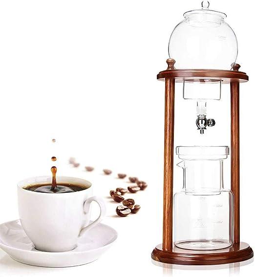 Helado cafetera de Goteo de café, de Madera Agua Goteo de café ...