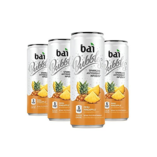 ng Water, Peru Pineapple, Antioxidant Infused Drinks, 11.5 Fluid Ounce Cans, 6 count ()